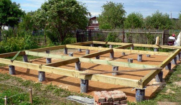 Четири етапа на изграждане на рамка къща със собствените си ръце