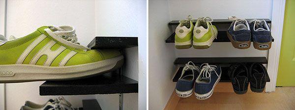 Ние правим рафт за обувки със собствените си ръце всички възможности