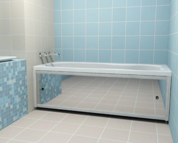 Ние правим плъзгащия се екран под ваната със собствените си ръце инструкциите стъпка по стъпка