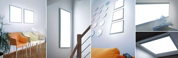 Ние правим LED панели за домашно събрание инструкция от нашите собствени ръце