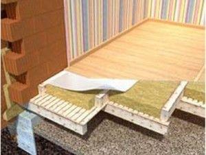Качествена изолация на пода в домашни препоръки за материали и технологии
