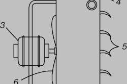 Схема на стационарен нагревател на вентилатора
