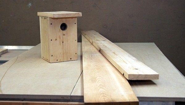 Как да си направим къщичка за птици в страната