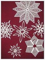 хартиени снежинки