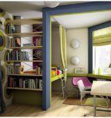 Как да направите зониране на спалнята и хола в една и съща стая опции с снимка