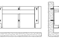 Схемата за закрепване на стенен радиатор