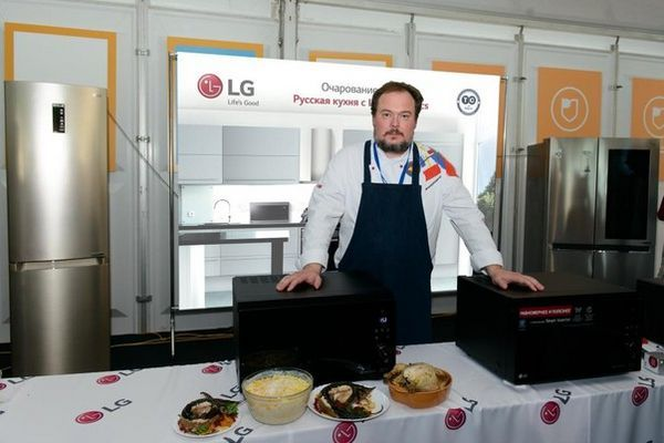 Кулинарен магистър клас чар на вкус Руска кухня с LG електроника