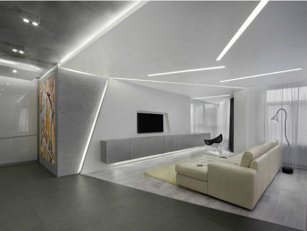 Апартамент със секретни области дизайнер sergei mansurov