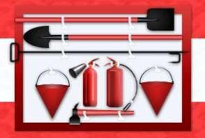 Норми и правила за попълване на противопожарен щит, осъществимостта на дома