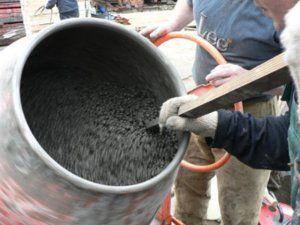 Правилното количество цимент за подготовка на 1 кубер от бетон