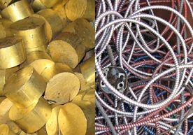 Приблизителни цени за приемане на скрап от цветни метали от различни видове