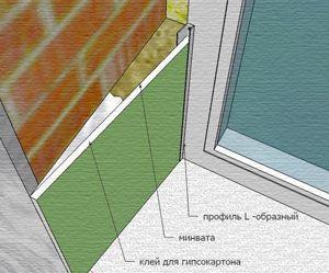 Склоновете на прозорците от гипсокартон могат да направят всеки със собствени ръце описание и съвети