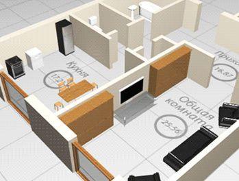 С това, което е по-правилно да започне реконструкцията на апартамент план за действие
