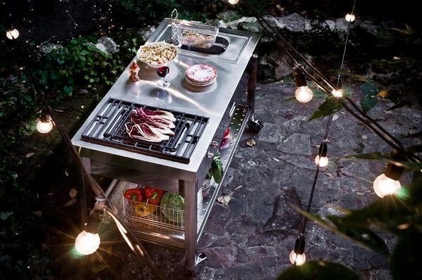 Градинска кухня от алпи