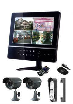 Видеонаблюдение системи за частни домове как да изберем правилния?