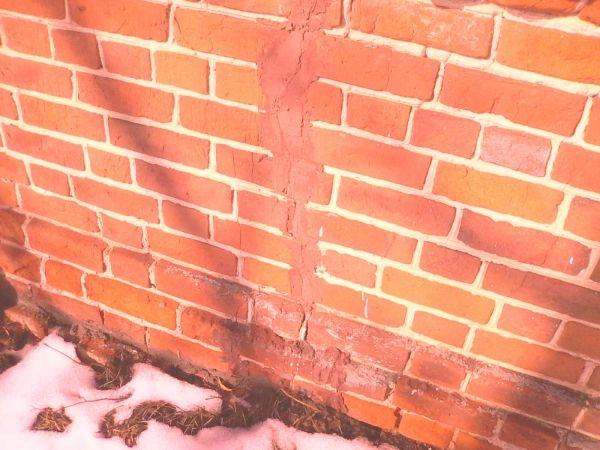 Методи и ред за запечатване на пукнатини в тухлени стени