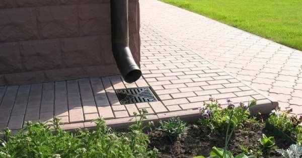 Видове отводняване на дъждовна вода за канализационни канали, правила за избор и инсталиране